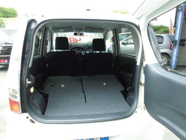 カスタム RS ターボ 社外CDデッキ HIDヘッドライト フォグランプ 電動格納ドアミラー ベンチシート アイドリングストップ 本革巻きハンドル プッシュスタート(18枚目)