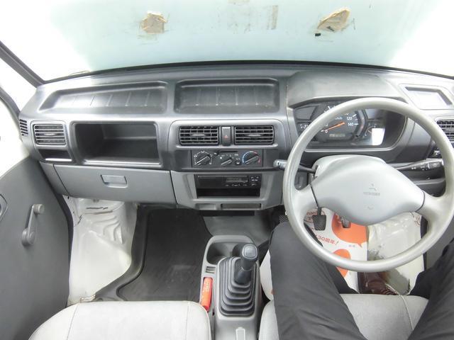 三菱 ミニキャブトラック Vタイプ 4WD エアコン パワステ 三方開 純正ラジオ