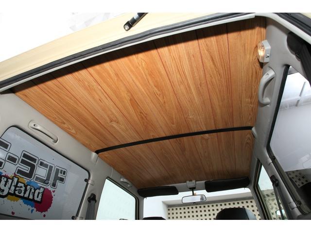 ☆☆ フローリングAタイプ!!ジムニーランド オリジナル 天井 ウッド 張り替え!切れたり、たるんでしまった、ジムニーの天井をオシャレに張り替え! ☆☆