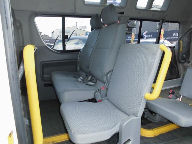 ウェルキャブ 車椅子リフト仕様 車椅子電動固定装置2基(9枚目)
