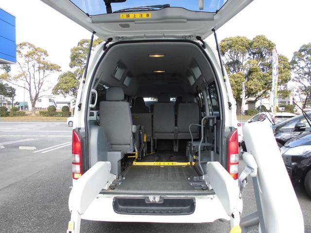 ウェルキャブ 車椅子リフト仕様 車椅子電動固定装置2基(13枚目)