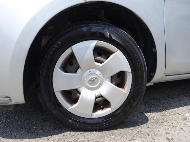 タイヤの山もまだまだ大丈夫ですよ。