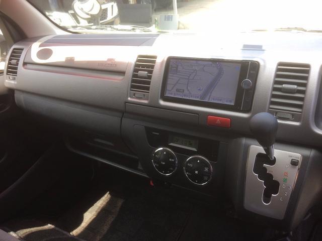 トヨタ ハイエースバン ロングスーパーGL 純正SDナビ フルセグ 自社無償1年保証