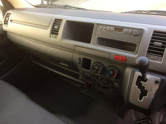 トヨタ ハイエースバン SロングワイドDX ディーゼルターボ キャンピング 9人乗り
