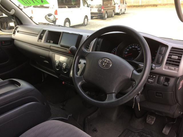 トヨタ ハイエースバン ロングワイドスーパーGL ディーゼルターボ 自社無償1年保証