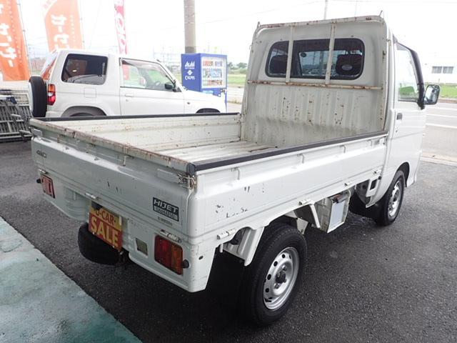 ダイハツ ハイゼットトラック スペシャル平床三方開 4WD 5MT