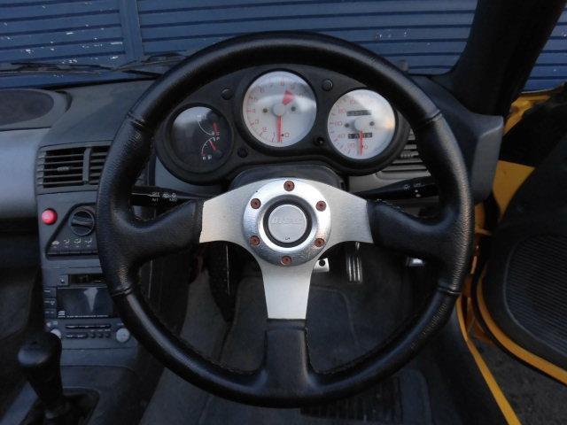ホンダ ビート ベースグレード 5MT 純正アルミ 車高調 二本出しマフラー