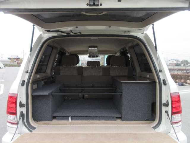 VXリミテッド 4WD キャンピング登録 全塗装 新品アルミ(8枚目)