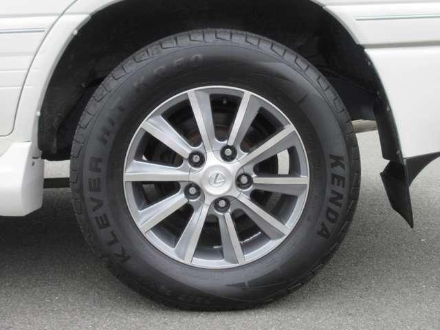 VXリミテッド 4WD キャンピング登録 全塗装 新品アルミ(14枚目)