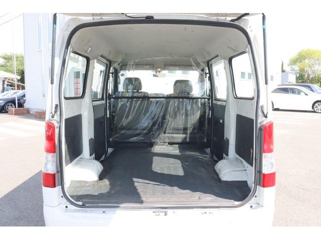 ★荷室の状態では特に大きなキズはございません。荷室幅1495mm、荷室高さ1300mmで使い勝手のよい車両です。