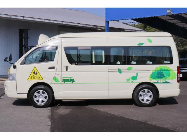 園児バス 幼児22人大人4人 バックモニター 4WD(3枚目)