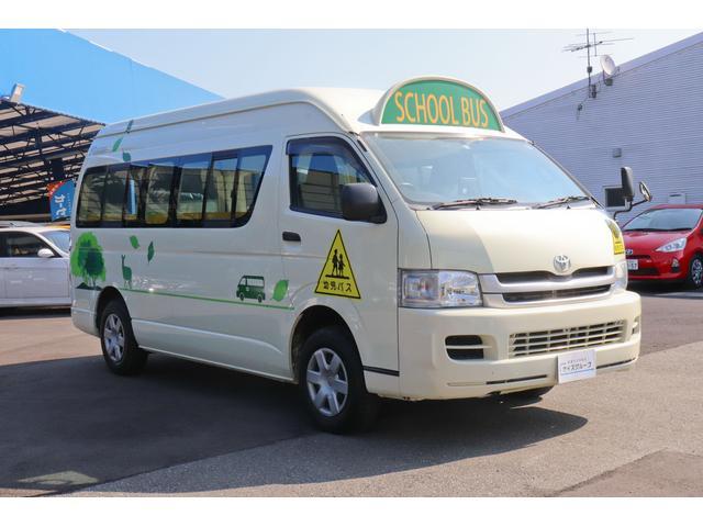 園児バス 幼児22人大人4人 バックモニター 4WD(4枚目)