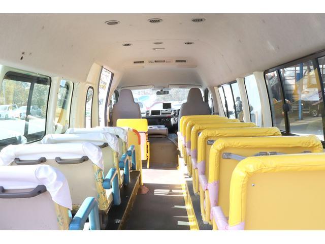 園児バス 幼児22人大人4人 バックモニター 4WD(12枚目)