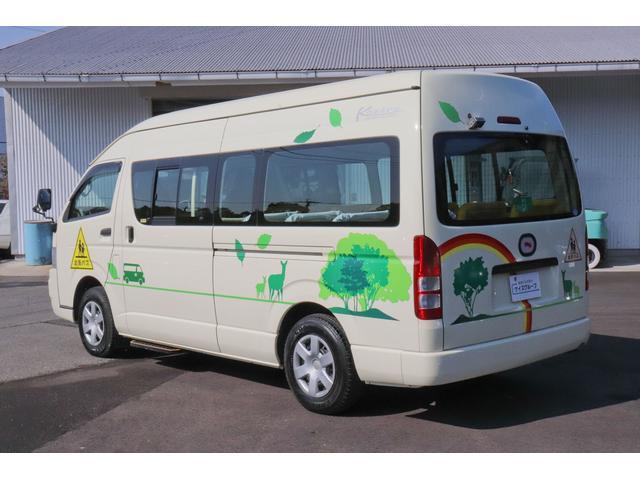 園児バス 幼児22人大人4人 バックモニター 4WD(18枚目)