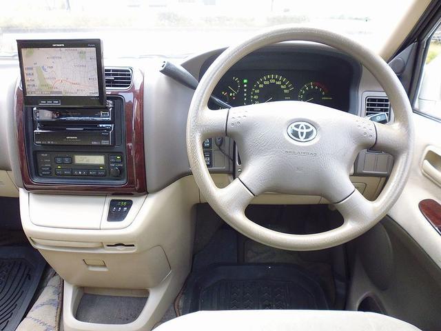 トヨタ グランドハイエース G Xエディション 社外HDDナビ ツインルーフ ETC