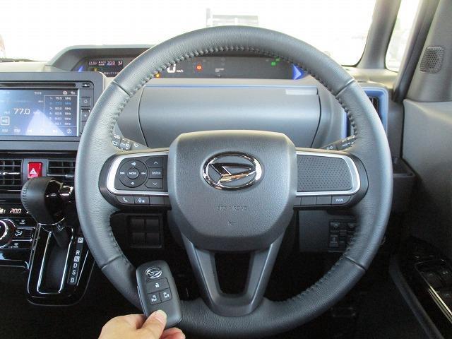 カスタムRS 両側電動スライドドア シート ハーフレザー バックモニター ターボ 衝突安全ボディ エンジンスタートボタン 衝突安全装置 車線逸脱防止支援システム EBD付ABS 横滑り防止装置 修復歴無(13枚目)