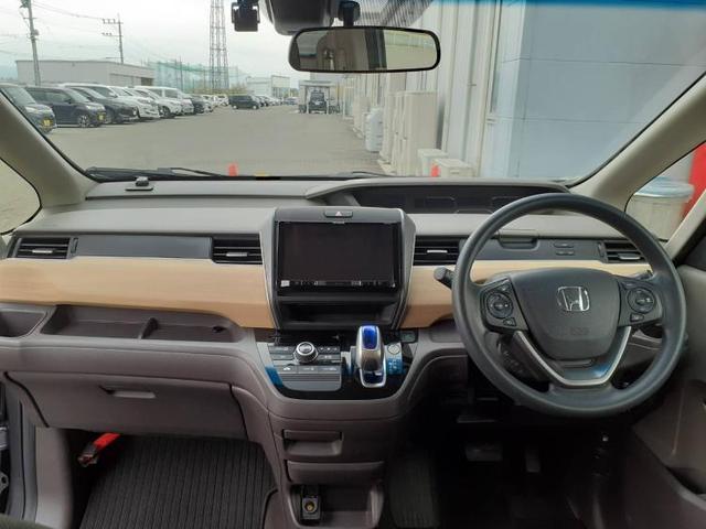 ハイブリッドGホンダセンシング 社外 9インチ メモリーナビ/両側電動スライドドア/車線逸脱防止支援システム/ヘッドランプ LED/ETC/EBD付ABS/横滑り防止装置/アイドリングストップ/TV/エアバッグ 運転席 ワンオーナー(4枚目)