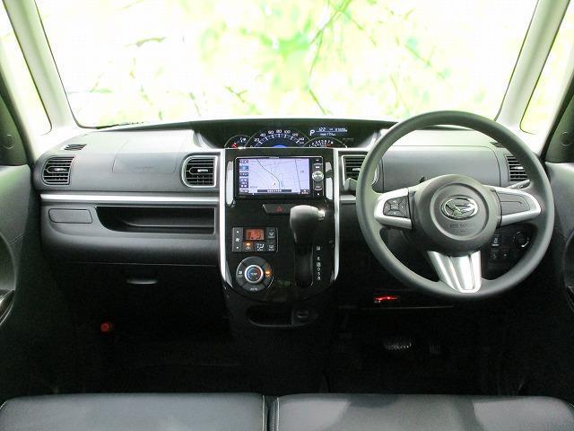 カスタムXトップエディションSA2 社外 7インチ メモリーナビ/電動スライドドア/シート ハーフレザー/パーキングアシスト バックガイド/ヘッドランプ LED/ETC/EBD付ABS/横滑り防止装置/アイドリングストップ バックカメラ(4枚目)
