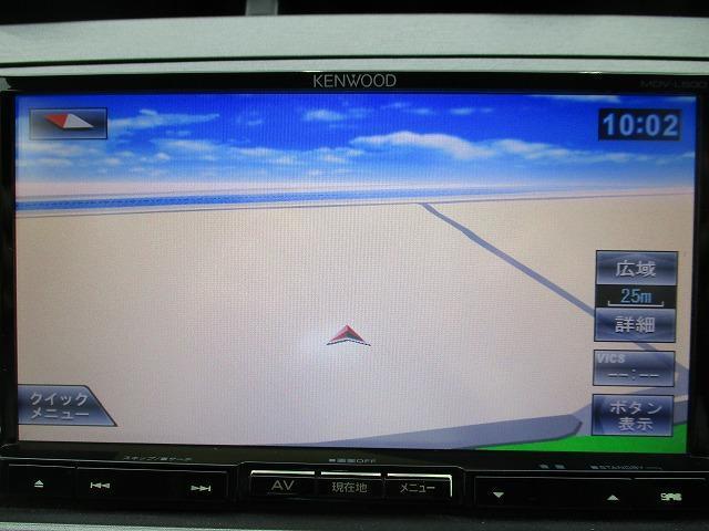 S 社外SDナビ/社外 7インチ メモリーナビ/ヘッドランプ HID/Bluetooth接続/ABS/EBD付ABS/横滑り防止装置/アイドリングストップ/DVD/TV/エアバッグ 運転席 禁煙車(9枚目)