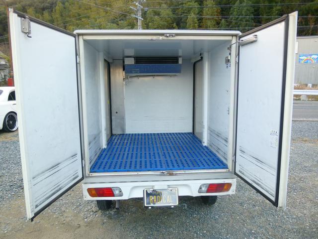 三菱 ミニキャブトラック 冷蔵冷凍 AC交換済み オートマ