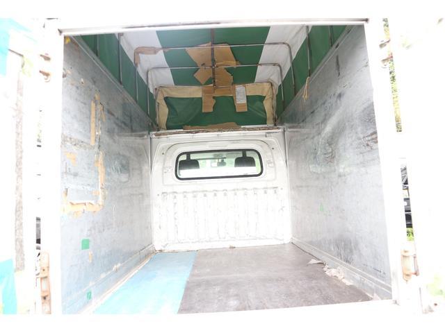 パネルバン 軽運送仕様 幌車 張り替え済み AC PS(9枚目)
