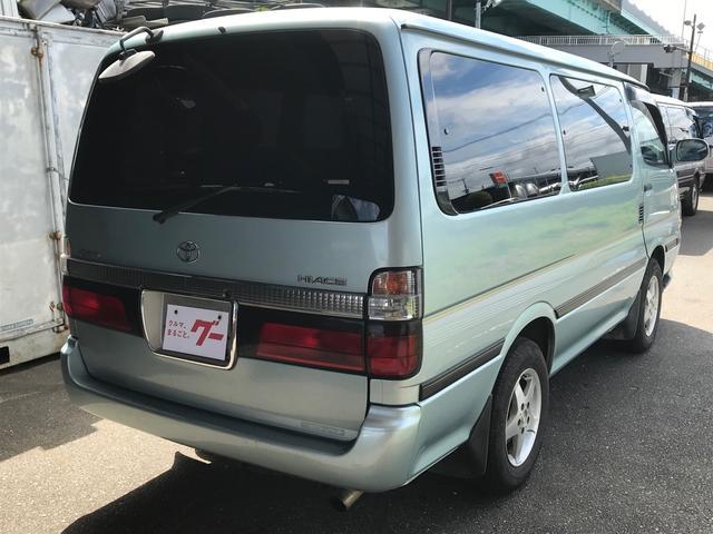 「トヨタ」「ハイエース」「ミニバン・ワンボックス」「福岡県」の中古車4