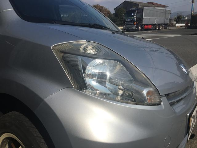 トヨタ パッソ X シートカバー 社外オーディオ キーレス