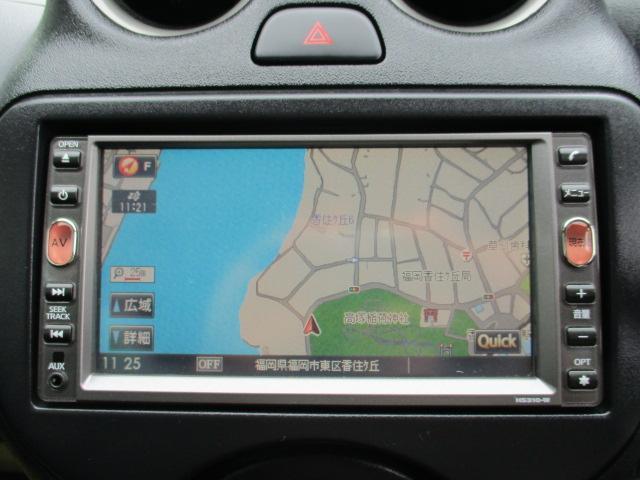 日産 マーチ 12X HDDナビ地デジワンセグDVD再生 ETC