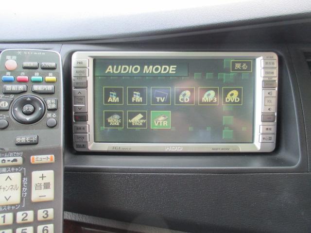 トヨタ アイシス プラタナ GエディションHDDナビ2セグETC両パワースラ