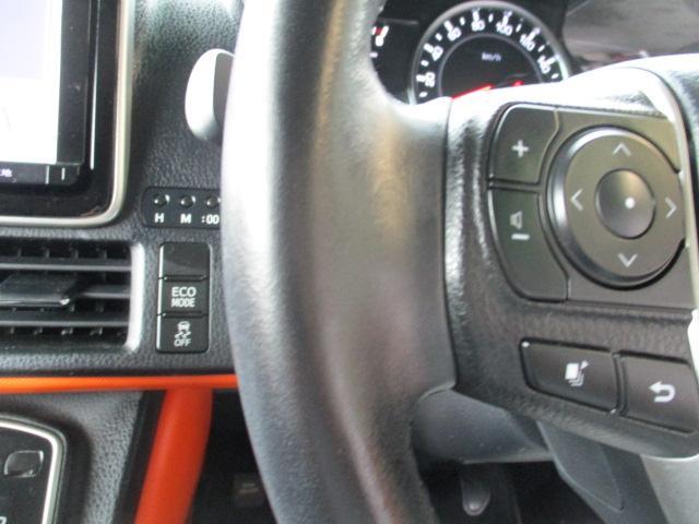 革巻ステア ステアスイッチが付いています。オーディオ曲スキップ、音量調節ができて便利です!ECO MODE