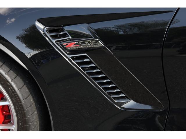 シボレー シボレー コルベット Z06ワンオーナー黒革カーボンエアロ禁煙車フルセグSDナビ
