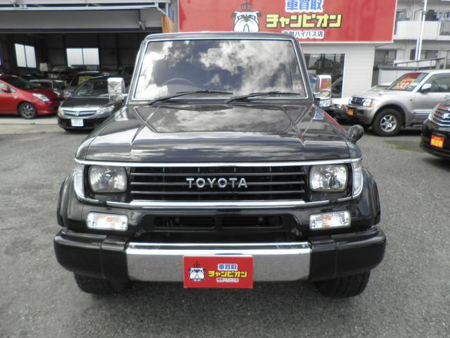 トヨタ ランドクルーザープラド SXワイドリミテッド HDDナビ Dターボ