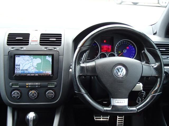 フォルクスワーゲン VW ゴルフ GTI メモリーナビ フルセグ バックカメラ パドルシフト