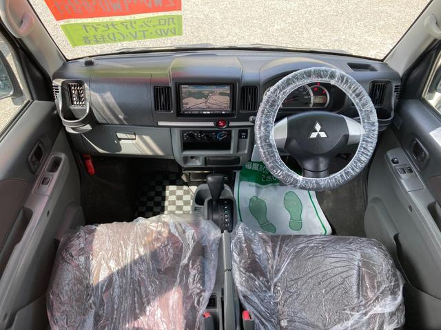 LX パートタイム4WD 楽ナビ ワンセグTV ETC 両側スライドドア 社外15AW(9枚目)