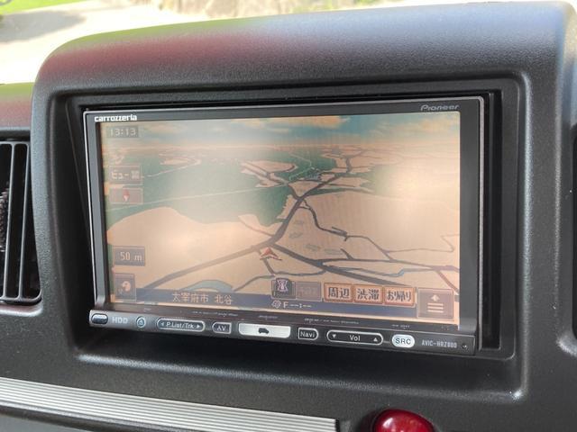 LX パートタイム4WD 楽ナビ ワンセグTV ETC 両側スライドドア 社外15AW(10枚目)