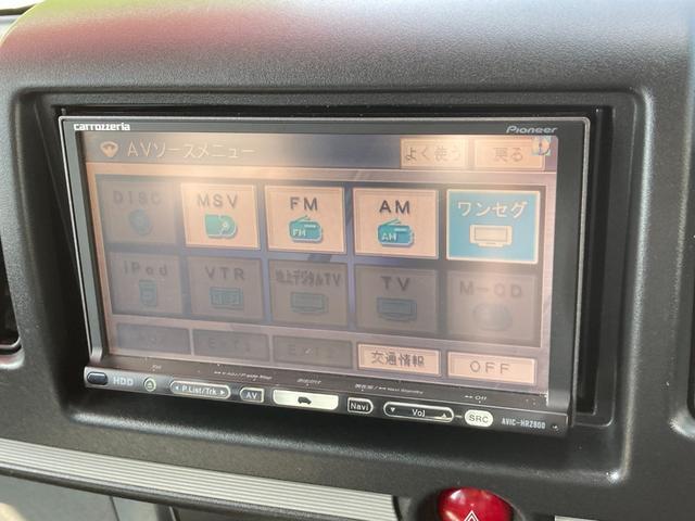 LX パートタイム4WD 楽ナビ ワンセグTV ETC 両側スライドドア 社外15AW(12枚目)