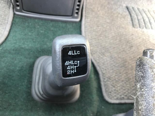 ジャスパー ETC 純正アルミ 4WD オートステップ(17枚目)