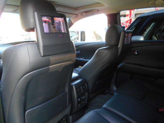 レクサス RX RX450h後期 バージョンL サンルーフ 黒革シート