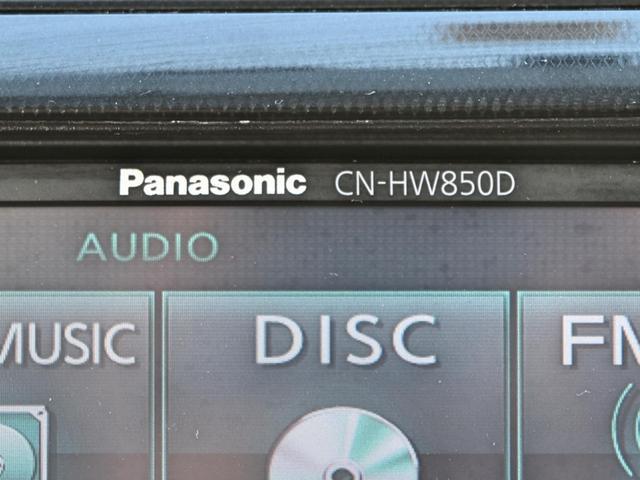パナソニック製CN-HW850D HDDナビ・フルセグテレビ・ミュージックサーバー対応多機能ナビ付!!