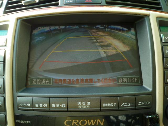 トヨタ クラウン ロイヤルサルーン 19インチ 社外アルミ ETC DVD再生