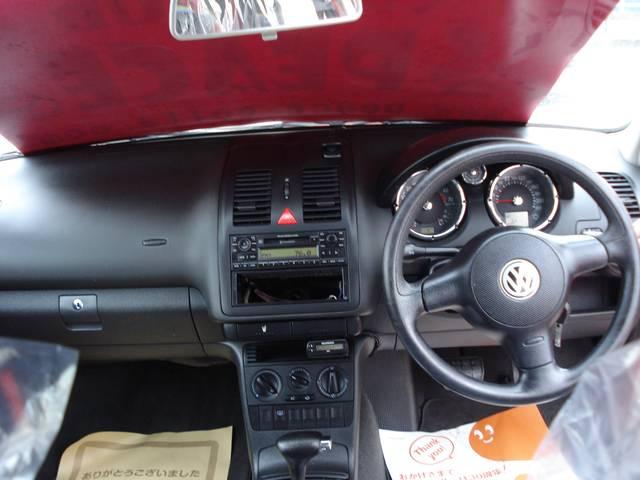 フォルクスワーゲン VW ポロ ベースグレード キーレス アルミホイール MDコンポ