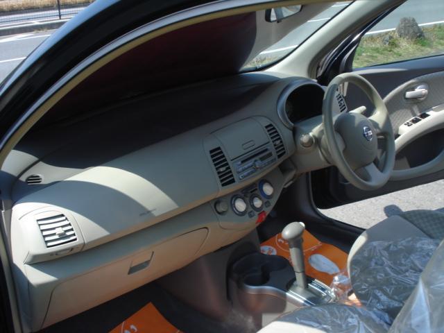 日産 マーチ 12B インテリキー CDコンポ