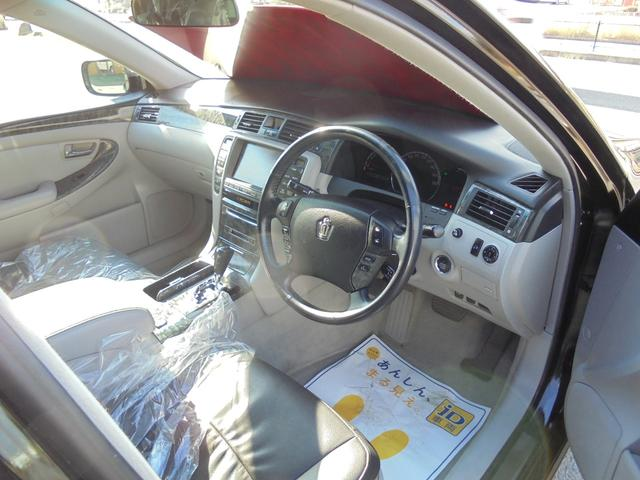 トヨタ クラウン ロイヤルサルーンG HDDナビ 後部席モニター バックカメラ