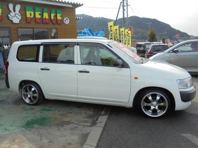トヨタ プロボックスバン 新品ダウンサス キーレス CD ABS 社外アルミホイール