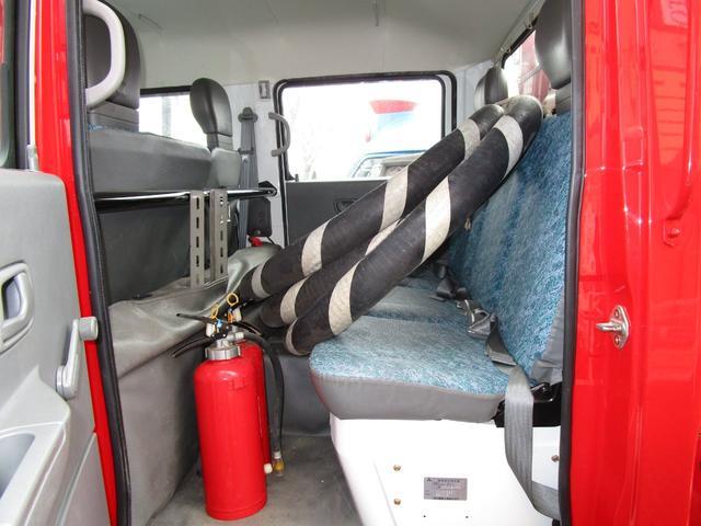 三菱ふそう キャンター Wキャブ 4WD 消防自動車