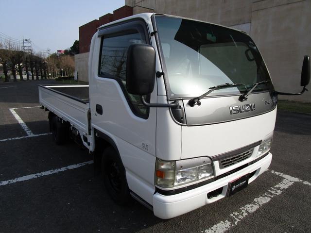 いすゞ エルフトラック フラットロー1.25トン