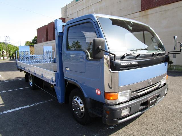 2トン積載車 ・内外装クリーニング仕上げ・ハイジャッキ・荷台後方伸縮・LED作業灯・アルミあおり(2枚目)