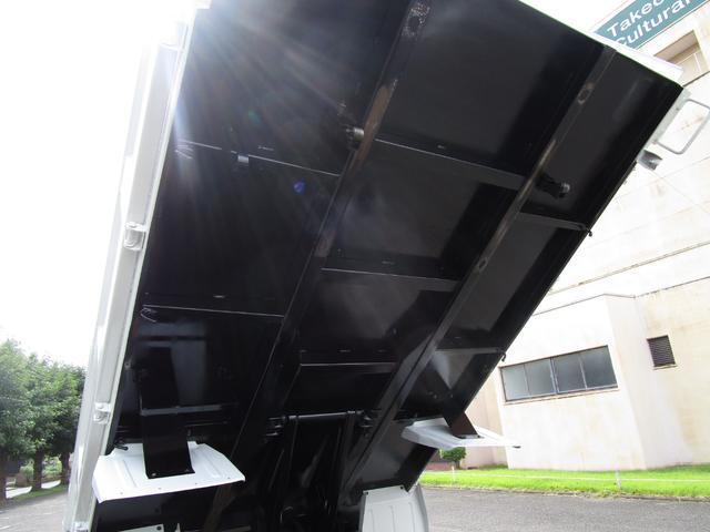 3トン積4ナンバー高床ダンプ ・内外装クリーニング仕上げ・ワンオーナー車・3トン積4ナンバー車・ブリッジフック・リアゲートロックピン・HSA・左側電動格納ミラー(14枚目)