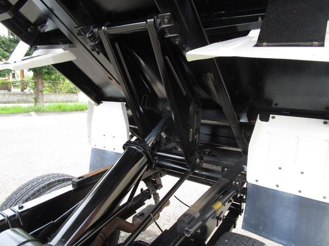 3トン積4ナンバー高床ダンプ ・内外装クリーニング仕上げ・ワンオーナー車・3トン積4ナンバー車・ブリッジフック・リアゲートロックピン・HSA・左側電動格納ミラー(25枚目)