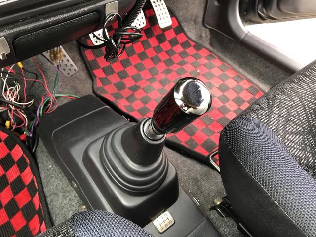 ie 改造車 4WD クロスミッション デフ フライホイール マフラー CPU ショック 5速ミッション(14枚目)